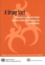Cover of: A Strong Start | United Nations.