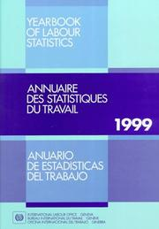 Cover of: Yearbook Labor Statistics 1999 (Yearbook of Labour Statistics/Annuaire Des Statistiques Du Travail)