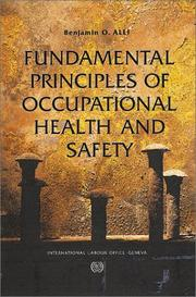 Cover of: Fundamental Principles of Occupational Health and Safety