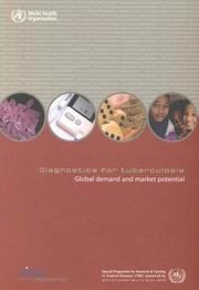 Cover of: Diagnostics for tuberculosis