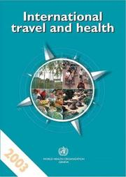 Cover of: International Travel and Health