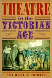 Cover of: Theatre in the Victorian Age