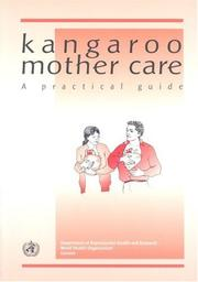 Cover of: Kangaroo Mother Care