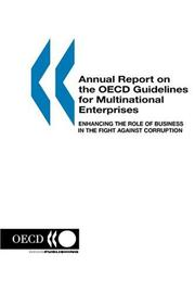 Cover of: Annual Report on the OECD Guidelines for Multinational Enterprises: 2003 Edition | OECD Publishing
