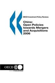 Cover of: OECD Investment Policy Reviews China