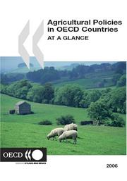 Cover of: Agricultural Policies in OECD Countries