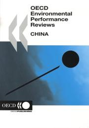 Cover of: Oecd Environmental Performance Reviews