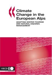Cover of: Climate Change in the European Alps