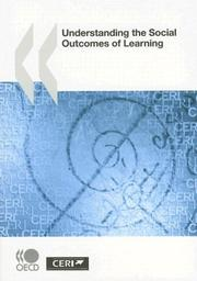 Cover of: Understanding the Social Outcomes of Learning |