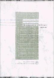 Cover of: Intellectual property policies for the twenty-first century