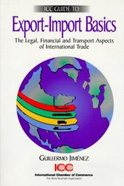 Cover of: ICC guide to export-import basics