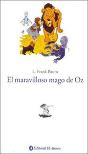 Cover of: El Maravilloso Mago De Oz / The Wonderful Wizard of Oz