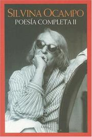 Cover of: Poesia Completa II