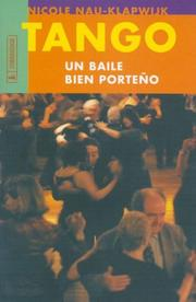 Cover of: Tango