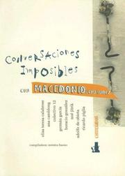 Cover of: Conversaciones imposibles con Macedonio Fernández