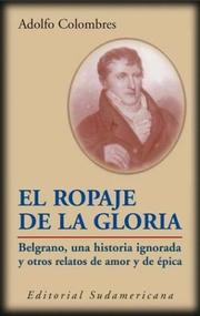 Cover of: Ropaje de La Gloria
