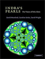Indra's pearls by David Mumford