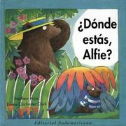 Cover of: Donde Estas, Alfie