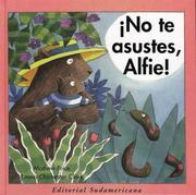 Cover of: No Te Asustes, Alfie