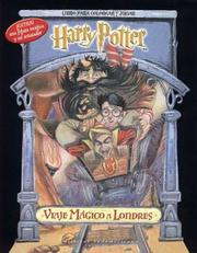 Cover of: Harry Potter Viaje Magico - Para Colorear