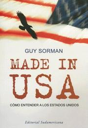 Cover of: Made in USA