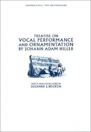 Cover of: Treatise on vocal performance and ornamentation