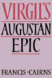 Cover of: Virgil's Augustan Epic