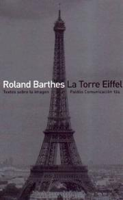Cover of: La Torre Eiffel