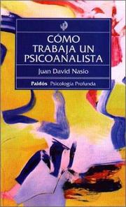 Cover of: Como Trabaja Un Psicoanalista / Sociological Perspective. Basic Concepts and Their Applications