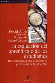 Cover of: La Evaluacion del Aprendizaje de Los Estudiantes / Institutional History and the School Administrator