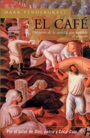 Cover of: El cafe