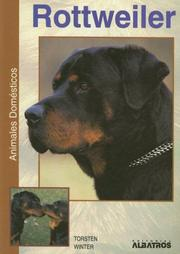 Cover of: Rottweiler (Animales Domesticos)