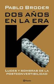 Cover of: DOS A~nos En La Era K