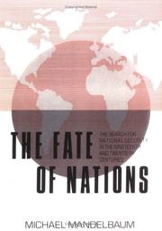 Cover of: Fate of Nations