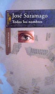 Cover of: Todos Los Nombres / All the Names