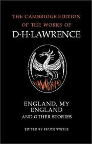 Cover of: England, my England and other stories