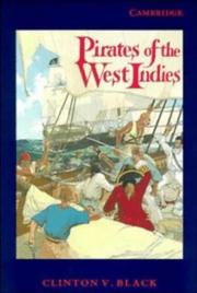 Cover of: Pirates of the West Indies by Clinton Vane de Brosse Black
