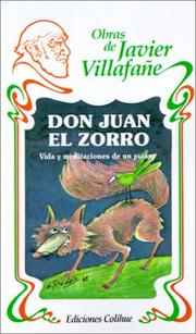 Cover of: Don Juan el Zorro