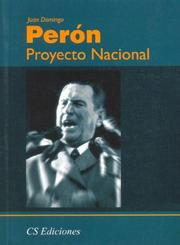 Cover of: Proyecto Nacional