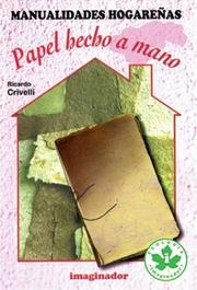 Cover of: Papel Hecho a Mano/ Hand Made Paper