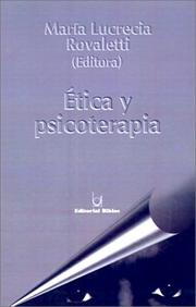 Cover of: Etica Y Psicoterapia