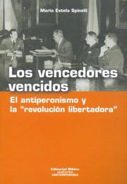 Cover of: Los Vencedores Vencidos