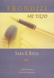 Cover of: Frondizi Me Dijo