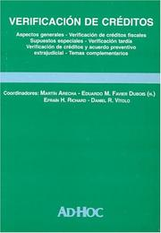 Cover of: Verificacion de Creditos