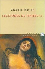 Cover of: Lecciones de Tinieblas (Relatos Deldragon)