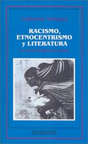 Cover of: Racismo, Etnocentrismo y Literatura