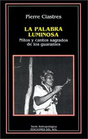 Cover of: Palabra luminosa, La