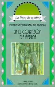 Cover of: En el Corazon de Africa