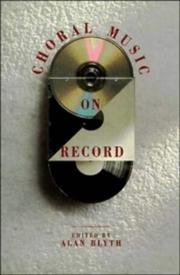 Cover of: Choral music on record |