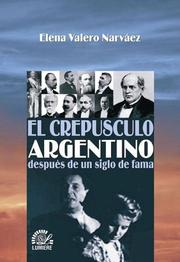 Cover of: El Crepusculo Argentino